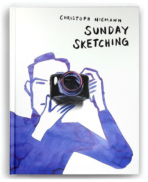 "Copertina di ""Sunday Sketching"", datato ottobre 2016"