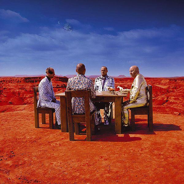 """La copertina di """"Black Holes and Revelations"""" nella versione dei Muse, 2006"""