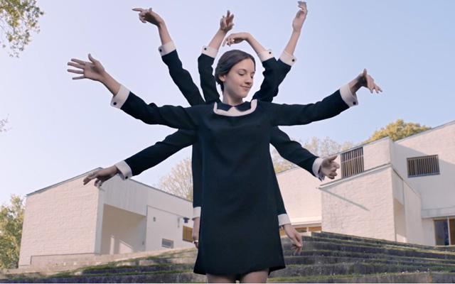 """Fotogramma di """"Come"""", traccia contenuta nel disco """"Zanaka"""", 2015"""