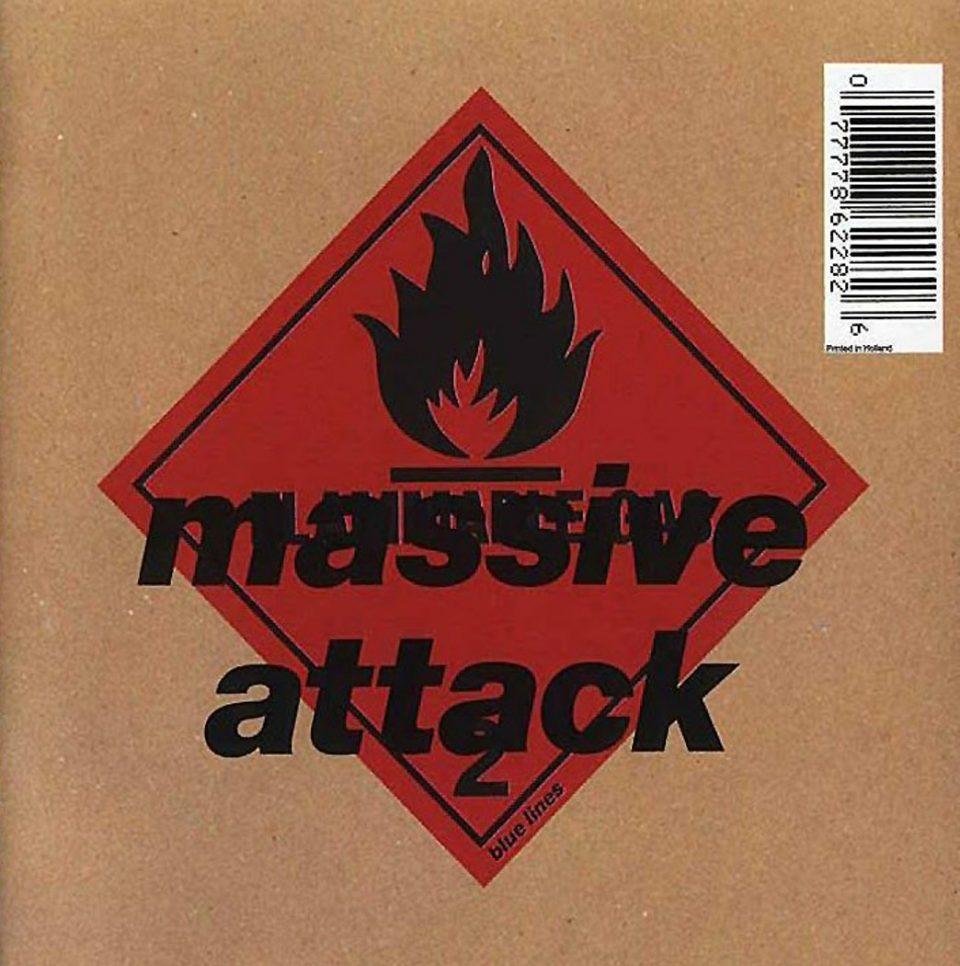 """Copertina di """"Blue Lines"""", Massive Attack, 1991"""