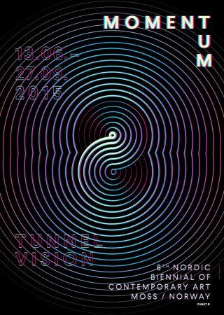 "Locandina ""Momentum 8 - Tunnel Vision"", 2015"