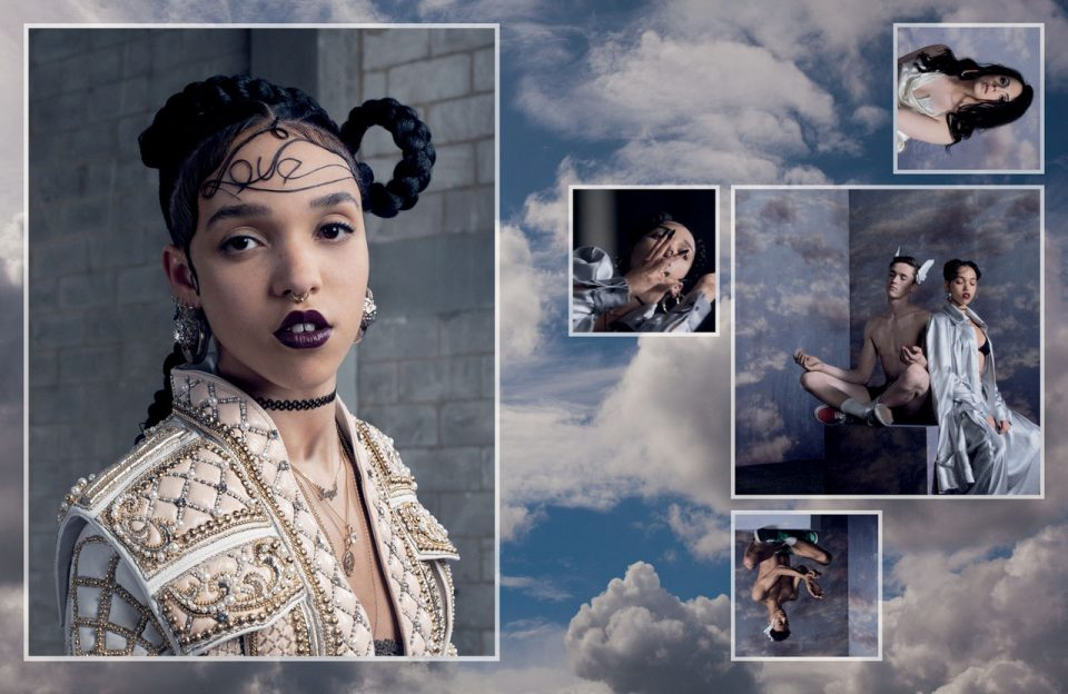 "FKA Twigs nelle foto di Matthew Stone per ""Everything is possible"", 2012"