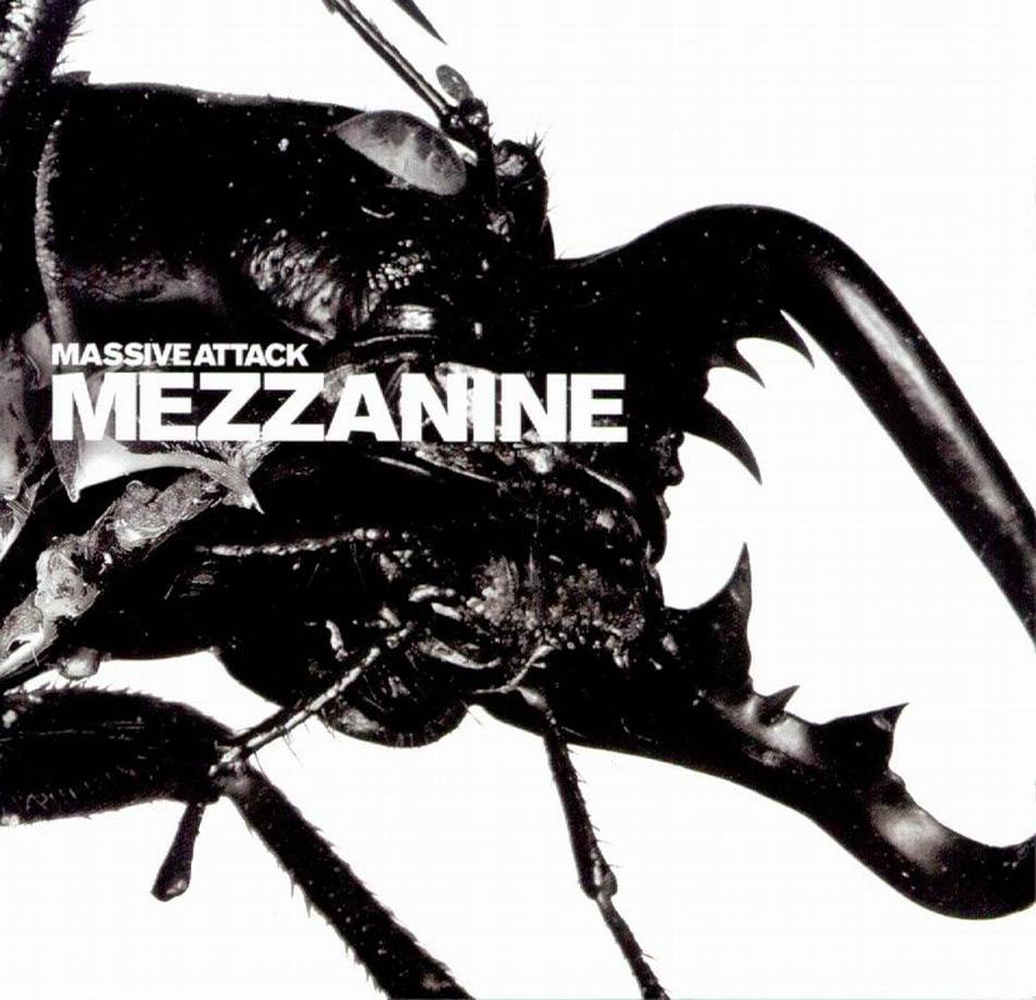 """Copertina """"Mezzanine"""", Massive Attack, 1998"""