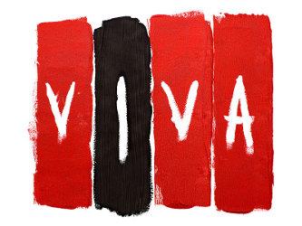 """Copertina di """"Viva La Vida"""" ad opera dei Coldplay e dei Tappin Gofton, Tour Asia, 2008"""