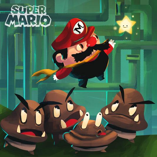 Recover di Super Mario World ad opera di Boli per SPACIO DISEÑO
