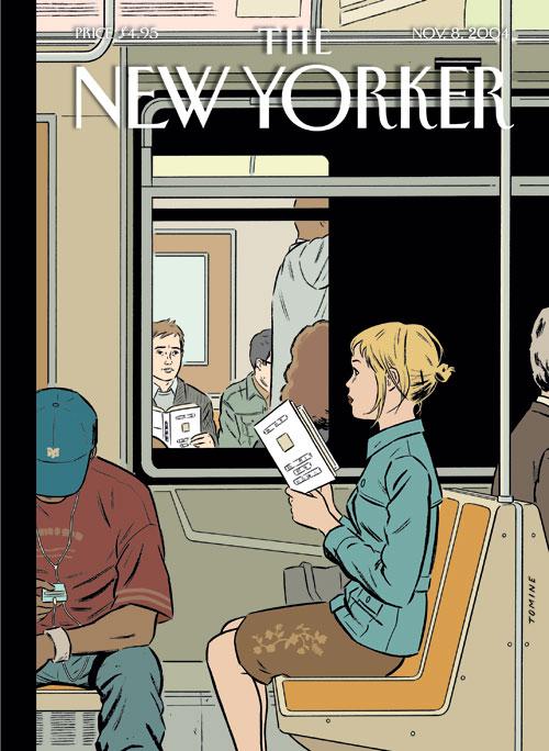 """Copertina di Adrian Tomine per il settimanale """"The New Yorker"""", 11 novembre 2004"""