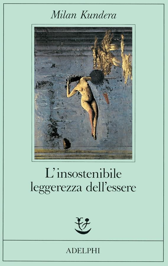 """""""Le pleiadi"""" di Max Ernst nella copertina del libro """"L'insostenibile leggerezza dell'essere"""" di Milan Kundera, edito da Adelphi"""